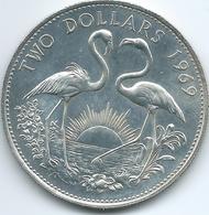 Bahamas - Elizabeth II - 1969 - 2 Dollars - KM9 - Bahamas