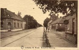 Lebbeke Dendermonde  H Kruis Brusschelse Steenweg  Niet Verzonden  Kartelrand - Lebbeke