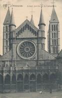 CPA - Belgique - Tournai - Avant Porche De La Cathédrale - Doornik