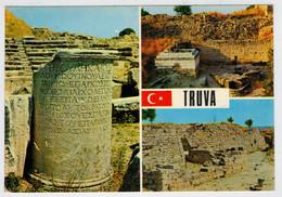 KUCUK TIYATRO  TAPINAK   TRUVA  VIII             (VIAGGIATA) - Turchia