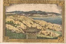ALLEMAGNE / GERMANY - KIAUTSCHAU KOLONY - 75 PFENNIG 1922 / SERIE A - [12] Kolonies & Buitenlandse Banken