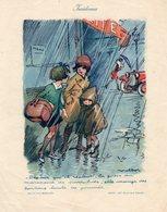 Poulbot, Affichette De 16.5 / 21cm. Incidences. - Plakate