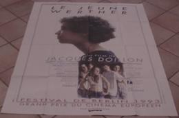 AFFICHE CINEMA ORIGINALE FILM LE JEUNE WERTHER Jacques DOILLON Ismaël JOLE-MENEBHI 1993 TBE - Affiches & Posters