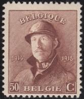 Belgie    .    OBP   .   174       .       *   .    Ongebruikt Met Charnier    .  / .    Neuf Avec Charniere - 1915-1920 Albert I