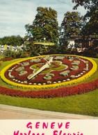 GENEVA , Switzerland , 50-60s ; Flower Bed Clock - GE Ginevra