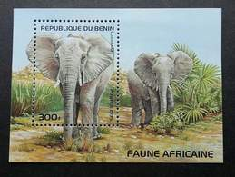 Benin African Elephant 1995 Wild Animal Wildlife (miniature Sheet) MNH - Benin – Dahomey (1960-...)