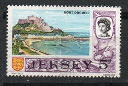Ref: 1339. Jersey. 1969. Escudo De Armas De Jersey Y Maza Real - Jersey