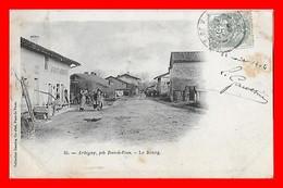 CPA (01) ARBIGNY.  Le Bourg, Animé, Auberge Avignant...A014 - Francia