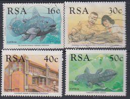 Afrique Du Sud N° 683 / 86 X, O  : Cinquantenaire De L'identication Du Coelacanthe Les 4 Vals Obli Ou Trace Ch. Sinon TB - Afrique Du Sud (1961-...)