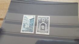 LOT 449655 TIMBRE DE MONACO NEUF** LUXE N°369/370 VALEUR 16,5 EUROS - Monaco
