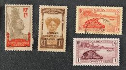 FRANCE - COLONIES -GABON - Lot - Gabon (1886-1936)