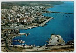MANFREDONIA    IL   PORTO           (SCRITTA) - Manfredonia