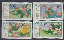 Afrique Du Sud N° 692 / 95 XX  : Centenaire De La Fédé. Sud-africaine De Rugby.  Les 4 Vals Sans Charnière TB - Afrique Du Sud (1961-...)