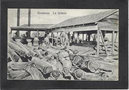 CPA Haïti Gonaïves La Scierie Métier Non Circulé - Cartes Postales