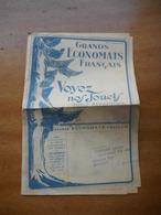 Grands Economats Francais - Catalogue De Jouets 1924 - France
