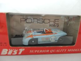 PORSCHE 908/3 NR. 12 TARGA FLORIO 1970 BEST 9039 NUOVA IN BOX - Best Model