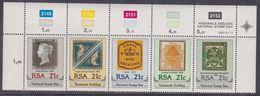 Afrique Du Sud N° 712 / 16 XX  : Journée Nationale Du Timbre-Poste.  Les 5 Valeurs Se Tenant, Sans Charnière TB - Afrique Du Sud (1961-...)