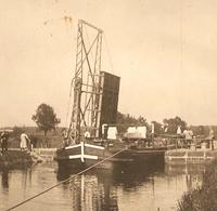 PHOTO ORIGINALE - PENICHE ECLUSE PONT MOBILE - ZOOM 2 Scans - Boats