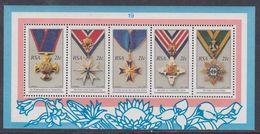 Afrique Du Sud N° 725 / 29 XX  : Ordres Nationaux Sud-africains.  Les 5 Valeurs Se Tenant, Sans Charnière TB - Afrique Du Sud (1961-...)