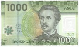 Chile 1000 Pesos 2018 P161g UNC - Chile