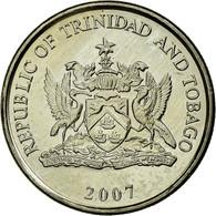 Monnaie, TRINIDAD & TOBAGO, 25 Cents, 2007, Franklin Mint, SUP, Copper-nickel - Trinidad & Tobago