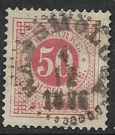 Sweden, 1872, 50 Ore, Rose-red, Perf 14, Used, Used - Used Stamps