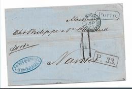 Rl130 / RUSSLAND - St. Petersburg 1862 Nach Nantes - 1857-1916 Imperium