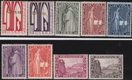 Belgie    .    OBP   .    258/266     .       **   .   Postfris    .  / .    Neuf SANS  Charniere - Belgique