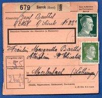 Colis Postal /  Départ Sierck - Allemagne