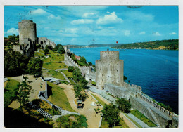 ISTAMBUL   RUMELIHISARI  ON THE EUROPEAN COAST OF BOSPHORUS  FORTRESSE  DE RUMELIHISARI               (VIAGGIATA) - Turchia