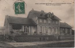SAINT GERMAIN BEAUPRE  MAIRIE ET GROUPE SCOLAIRE - France