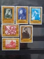 1958- BELGIQUE N° 1076 à 1081 * - CHEFS D'OEUVRES MUSEES BELGES - Belgium