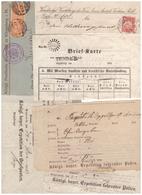 Alte Papiere Aus Dem Deutschen Reich - 1800 – 1899