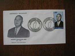 FDC Madagascar 1971 Tananarive Personnages Célèbres Ravohangy - Madagascar (1960-...)