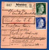 Colis Postal /  Départ Helfrantskirch / 7-6-43 - Allemagne
