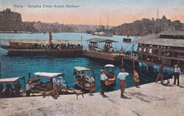CARTOLINA - POSTCARD - MALTA - SENGLEA CREEK GRAND HAR BOUR - Malta