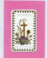 FLEURS DE JERUSALEM Posées Sur Le St Sépulcre - Image Dorée - Images Religieuses