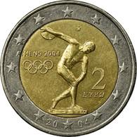 Grèce, 2 Euro, 2004, TTB, Bi-Metallic, KM:209 - Grèce
