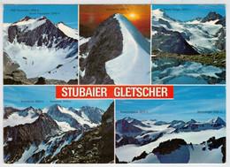 STEINACH  A. BRENNER    GRUSSE  VON DEN DREITAUSENDEM  DES STUBAITALES  TIROL               (VIAGGIATA) - Steinach Am Brenner