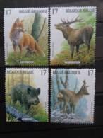 BELGIQUE 1998 N° 2748 à 2751 ** - MAMMIFERES DES ARDENNES - Unused Stamps