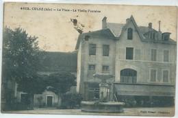 Culoz-La Place-La Vieille Fontaine (CPA) - France