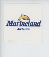 Antibes : Marineland - Dauphin (autocollant 8X8) - Antibes