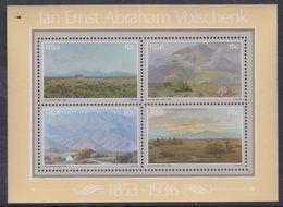 Afrique Du Sud BF N° 6 XX  : Peintures De Jan Ernst Abraham Volschenk,  Le Bloc Sans Charnière, TB - Afrique Du Sud (1961-...)