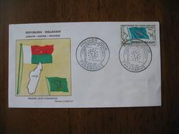 FDC Madagascar 1962 Tananarive Union Africaine Et Malgache - Madagascar (1960-...)