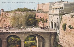 CARTOLINA - POSTCARD - MALTA - PORTA REALE ( MAIN ENTRANCE TO VALLETTA) - Malta