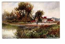 Illustration Illustrateur Raphael Tuck Aquarette N°6423 Serie Up The River The Bells Of Ousley - Tuck, Raphael