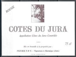 Etiquette De Vin De France * Côtes Du Jura * - Etiquettes