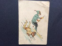 CALENDRIER  H.GROSSE PAPETERIE-LIBRAIRIE  *Lithographie *Typographie *Imprimerie *Jouets *Journeaux Etc... CHELLES  1923 - Calendriers