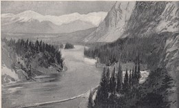 Bow Valley From C.P.R. Hotel , Canada , 00-10s - Other