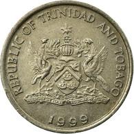 Monnaie, TRINIDAD & TOBAGO, 25 Cents, 1999, TTB, Copper-nickel, KM:32 - Trinidad & Tobago